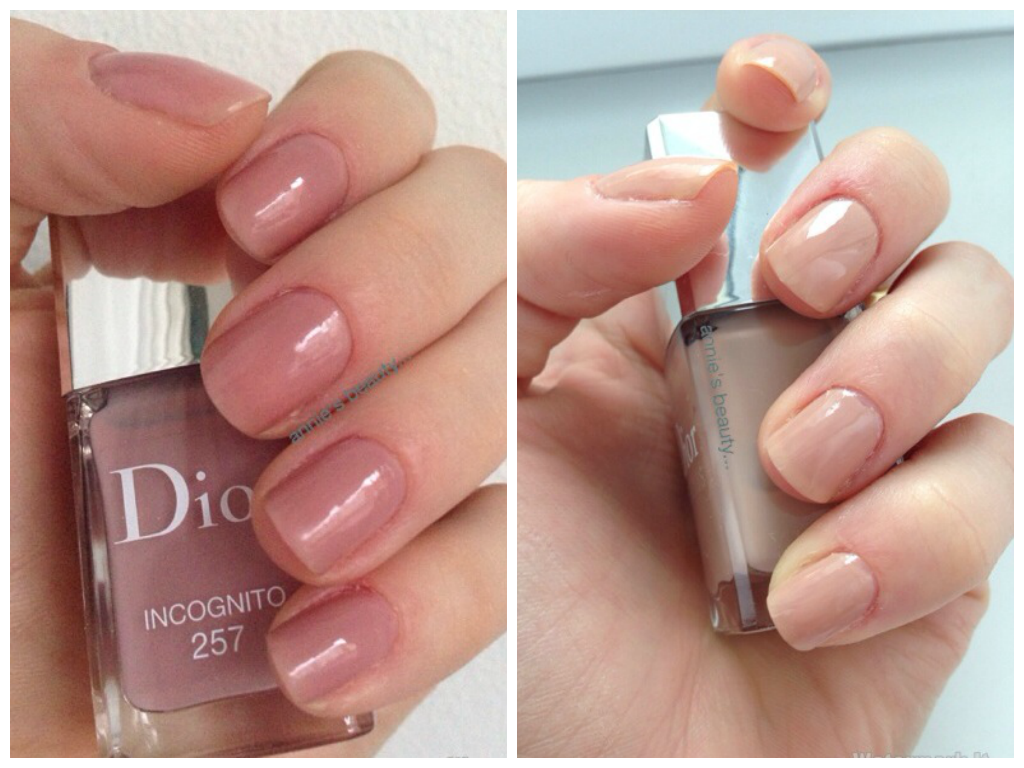 REVIEW DIOR nail polish nudes | annie\'s beauty...