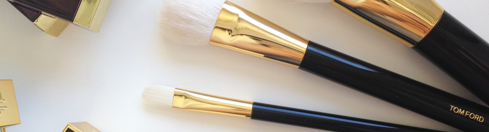 annie's beauty... TOM FORD brushes