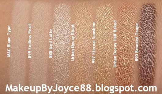 Loreal Iced Latte Bronzed Taupe Swatch