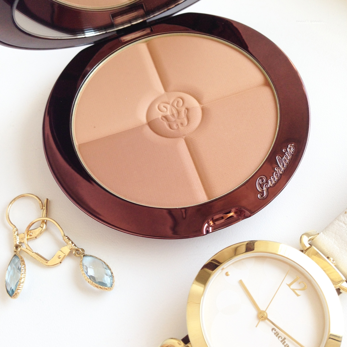 Guerlain Terracotta Bronzers Collection: the Terracotta 4 Seasons, the Terracotta Light and the Terracotta Sun Celebration 30th Anniversary Limited Edition