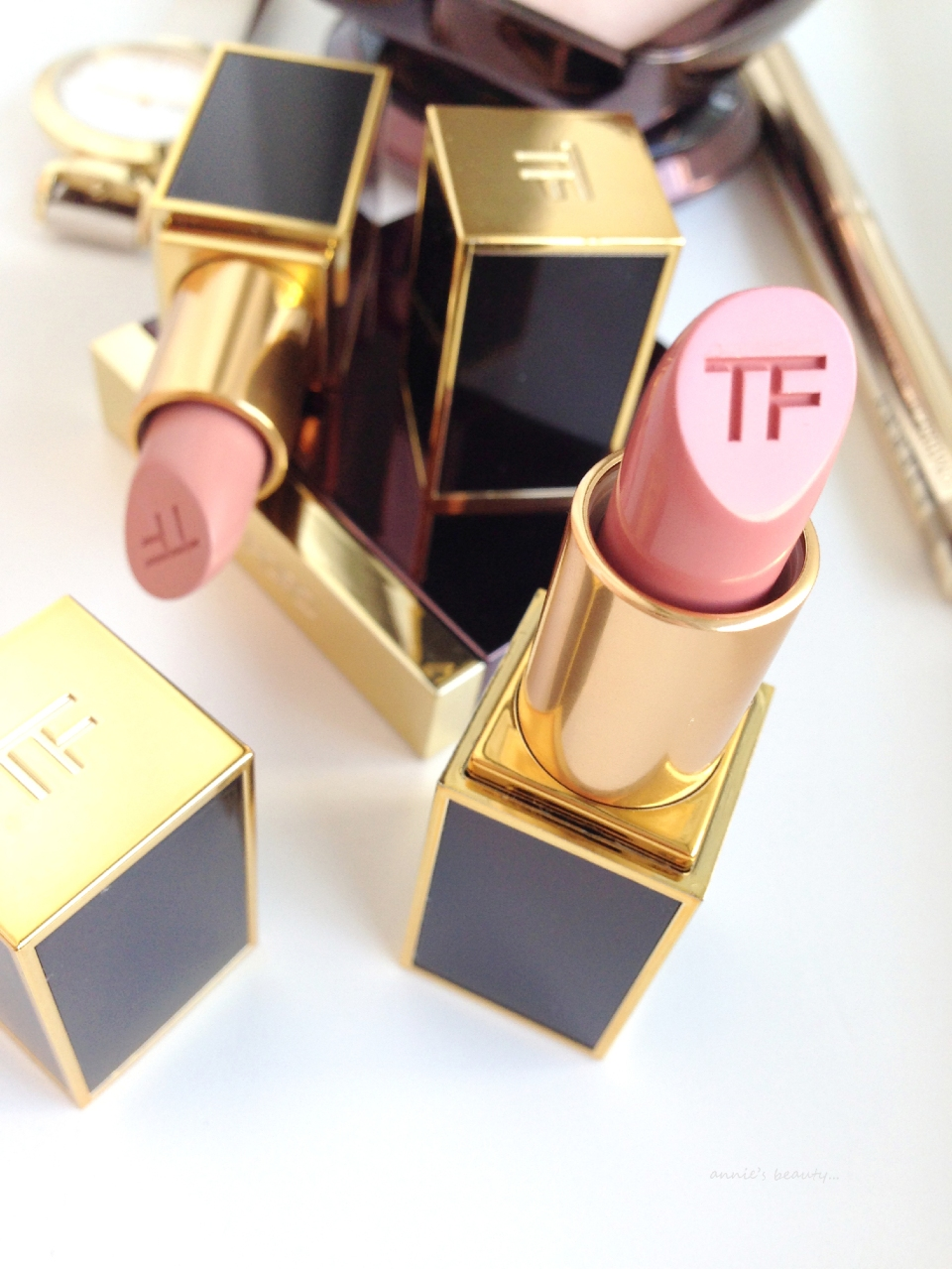 annie's beauty... TOM FORD makeup