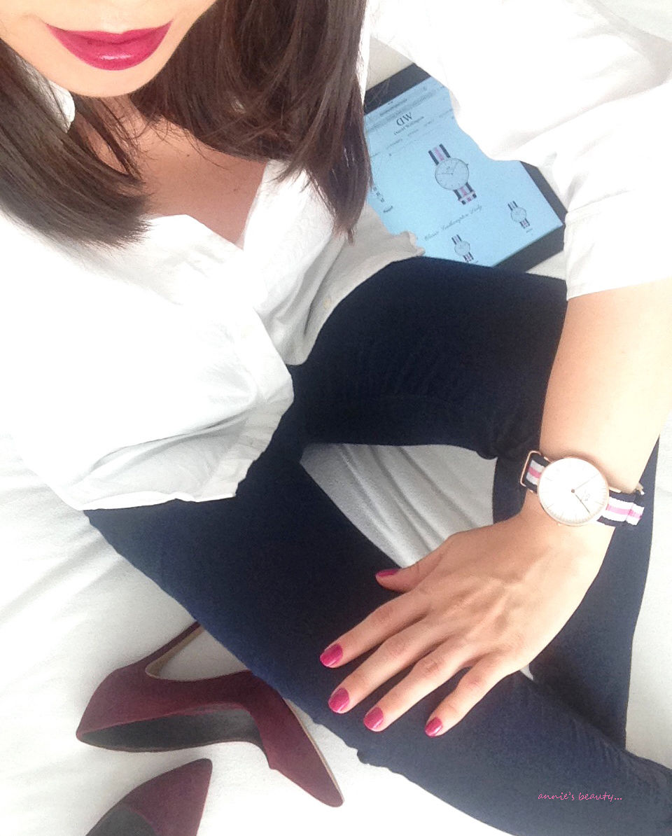 annie's beauty... DANIEL WELLINGTON