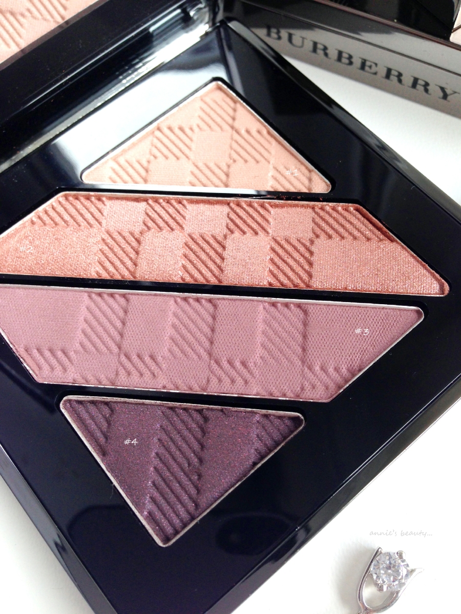 BURBERRY - Colours Made in England for Autumn 2014: The Complete Eye Palette in #12 Nude Blush