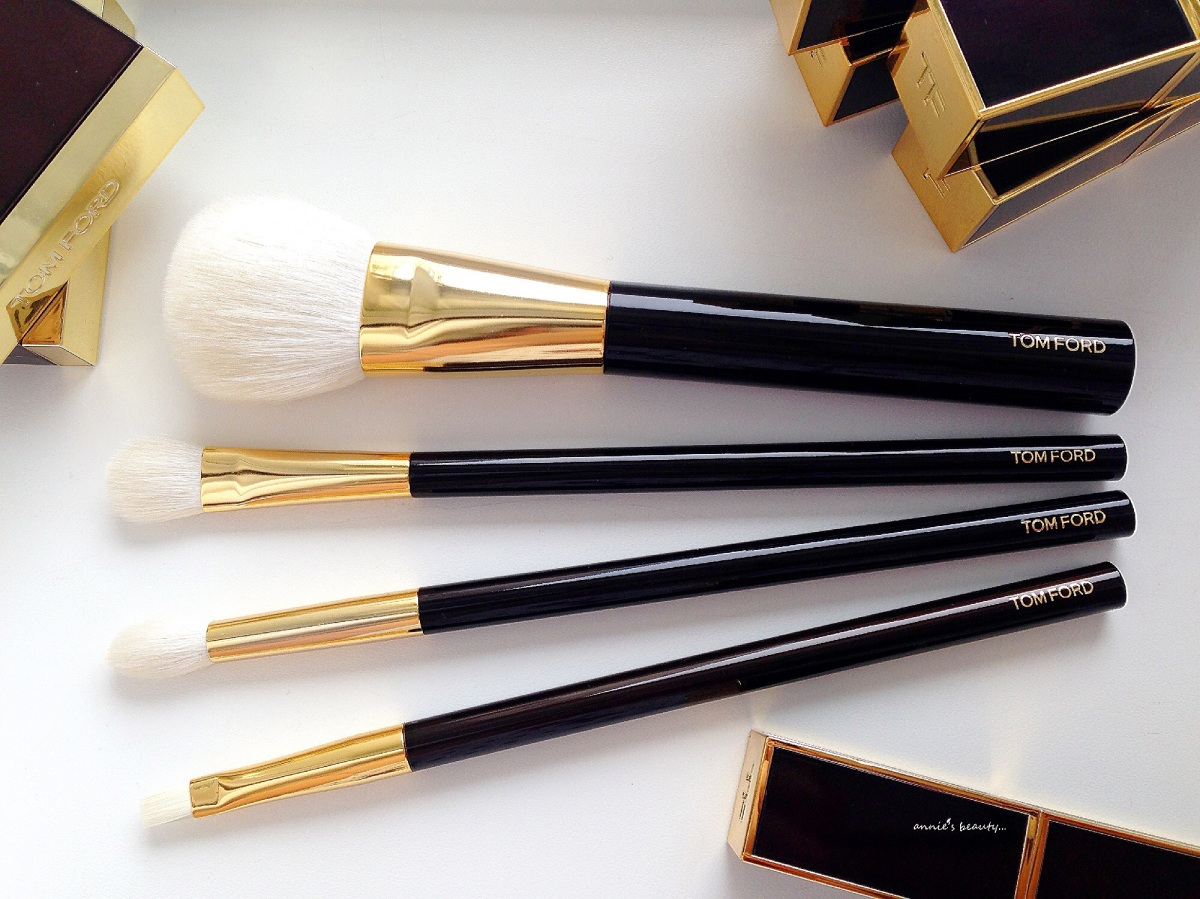 TOM FORD – My most luxurious makeup brushes... The updated collection!!!