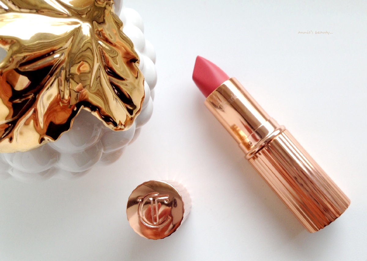 CHARLOTTE TIBURY's MATTE Revolution Lipstick Sexy Sienna - review, swatches, comparisons...