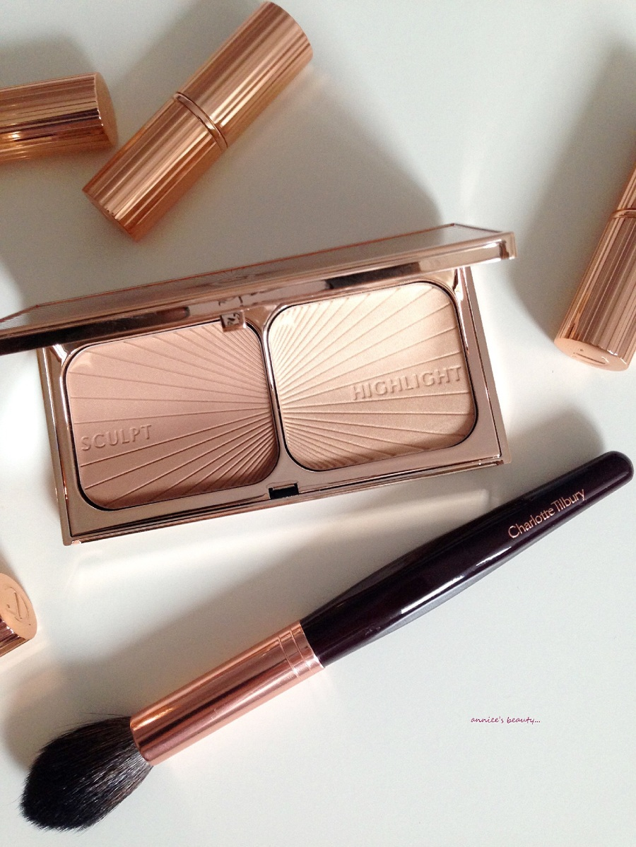 The glorious CHARLOTTE TILBURY Filmstar Bronze & Glow Face Sculpt & Highlight