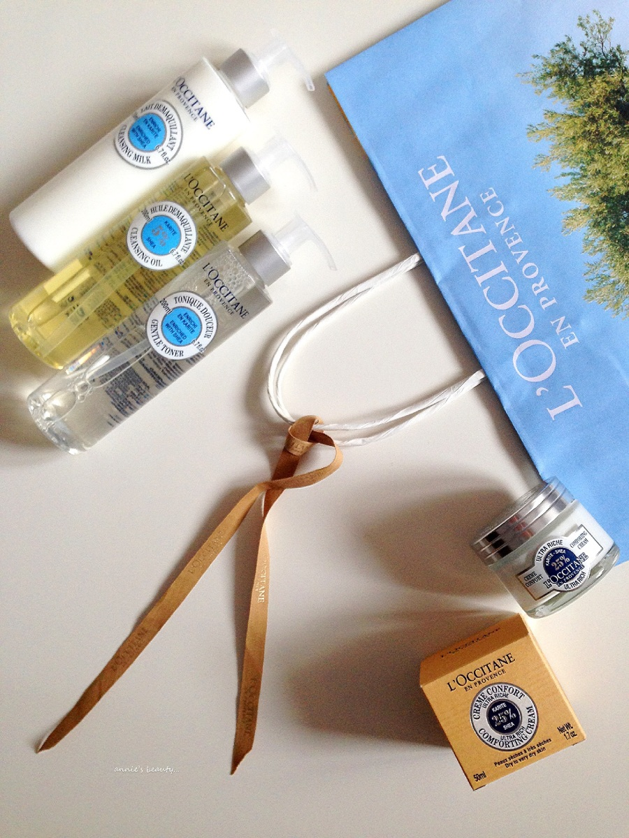 NEW SKINCARE PRODUCTS in the L'Occitane Shea Butter range!