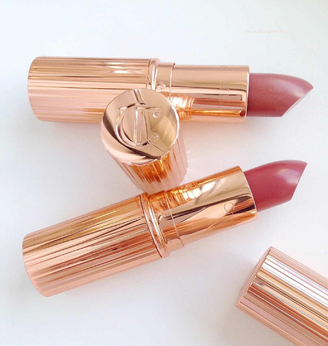 Loving Nudes #5: CHARLOTTE TILBURY's Confession, Stoned Rose and the infamous Lip Cheat Lip Liner in Pillow Talk