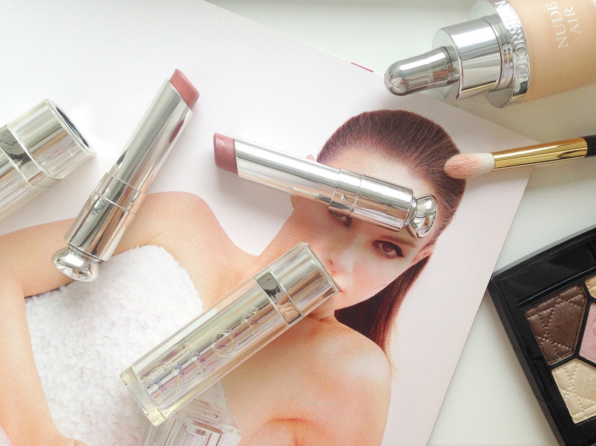 Loving Nudes #6 Dior Addict Lipsticks #525 Vintage and #535 Tailleur Bar