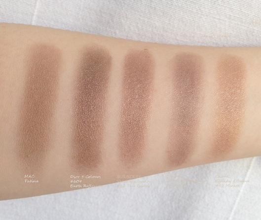 Burberry Eyeshadow dupes anniesbeautyblog