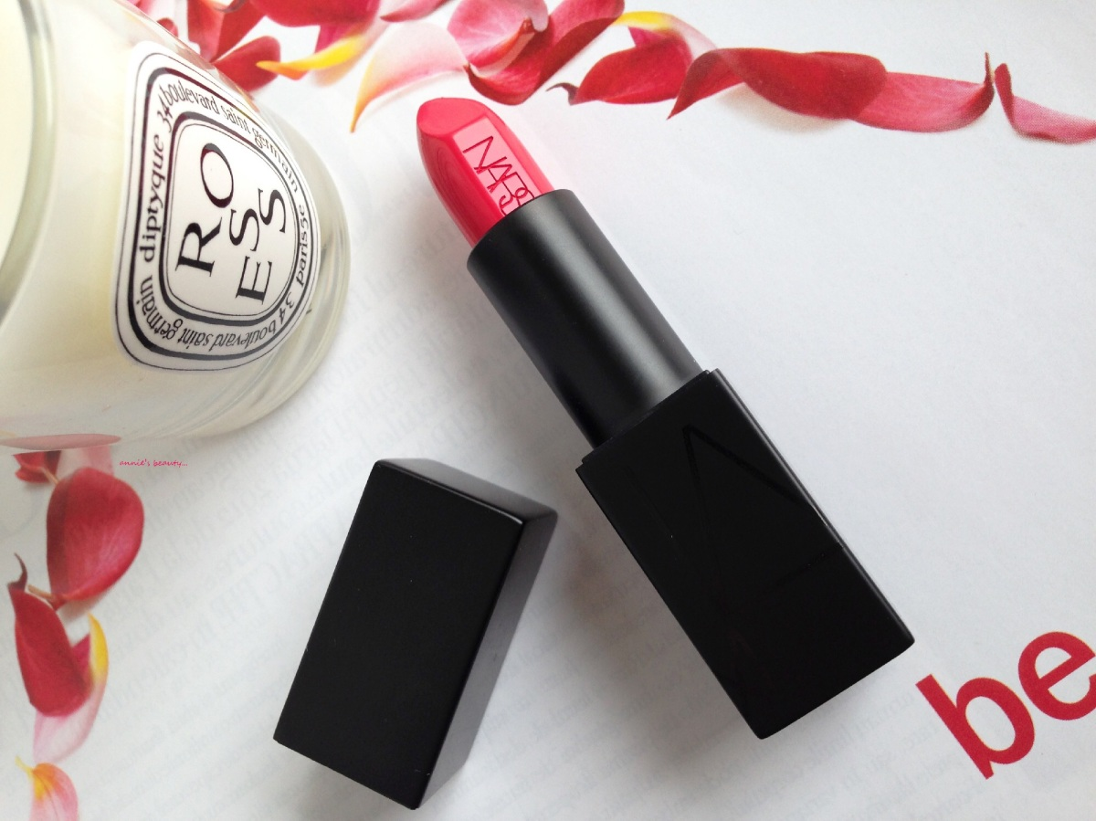 NARS Audacious Lipsticks - One Week in Spring Colours. Friday - Kelly