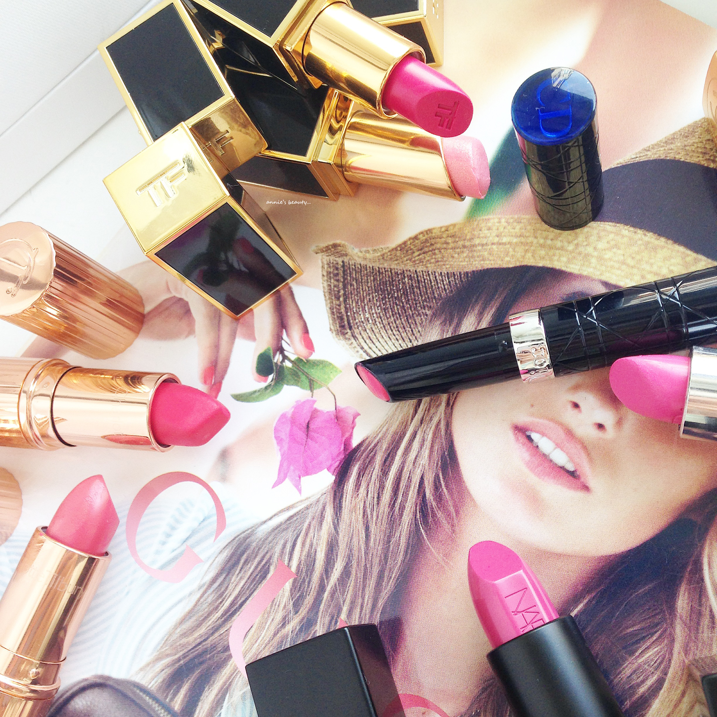 The Lipstick Tag 2.0… a.k.a. The Confessions of a Lipstick