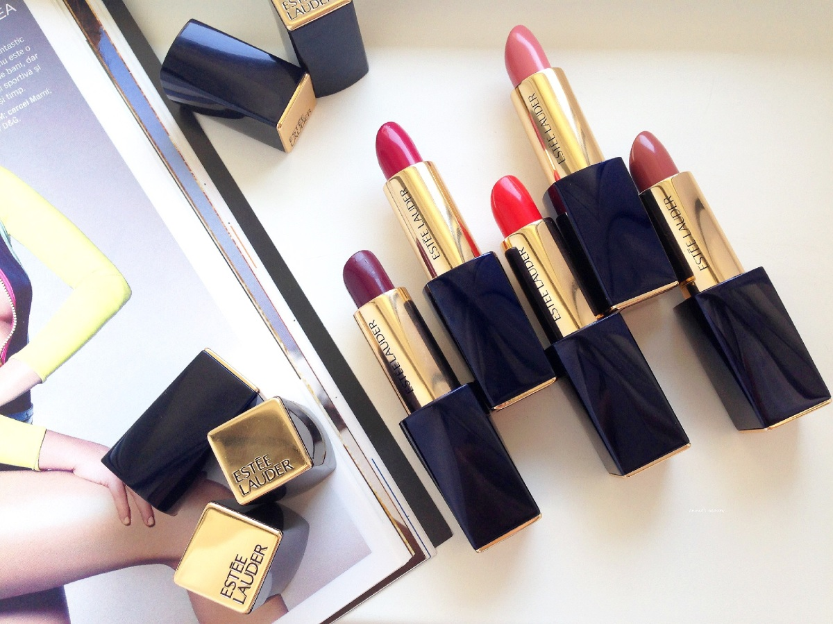ESTÉE LAUDER Pure Color Envy Lipsticks - an overdue review and swatches
