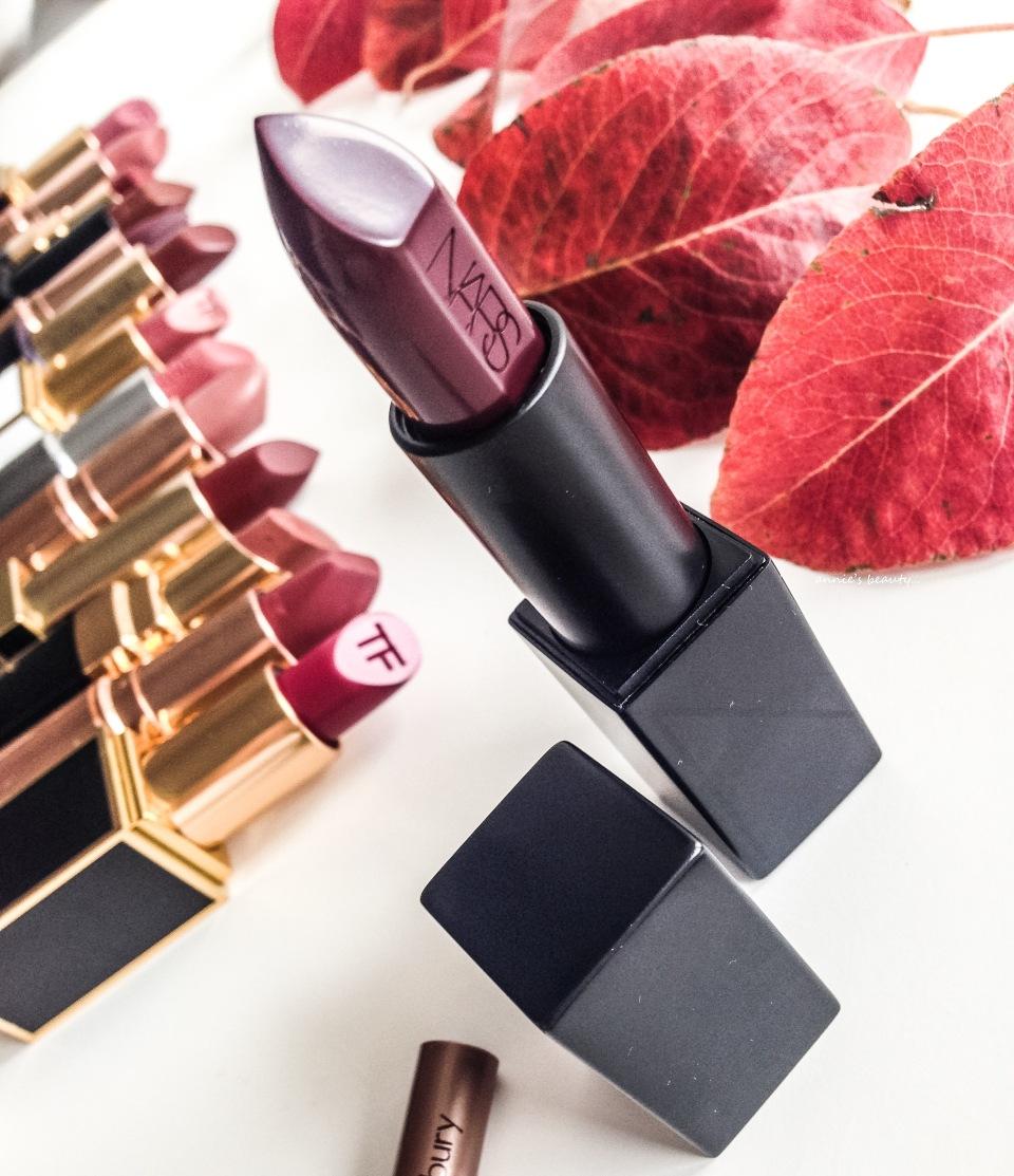 NARS Audacious Lipstick Ingrid anniesbeautyblog1