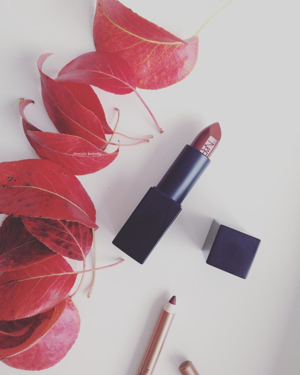 NARS Audacious Lipstick Deborah anniesbeautyblog1