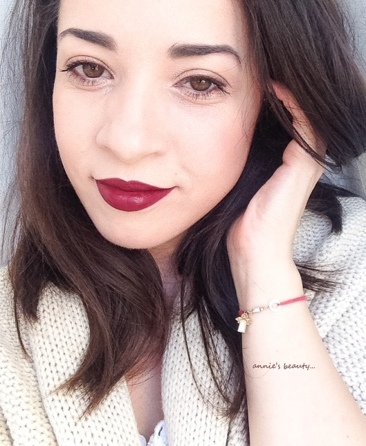 YSL Rouge Pure Couture the Mats 206 Grenat Satisfaction anniesbeautyblog