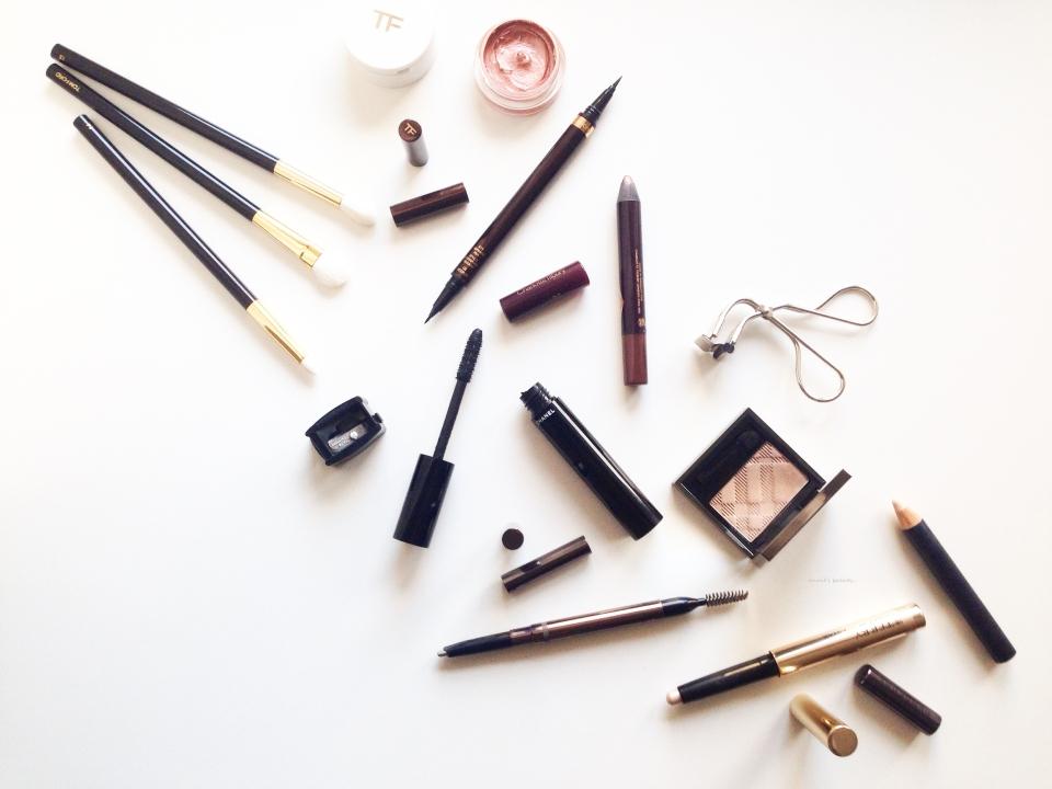 Eye essentials as of late 2015 anniesbeautyblog1