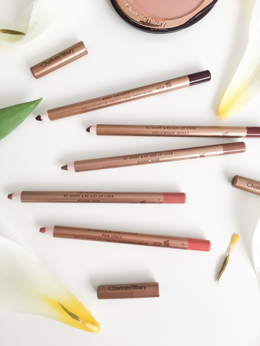 annie's beauty... Charlotte Tilbury Lip Liners Pink Venus Pillow Talk Iconic Nude Hollywood Honey Berry Naughty2